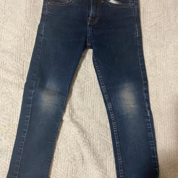4 pair boys designer jeans